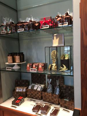 Chocolates at Cacao Portland
