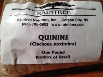 quinine chichona bark