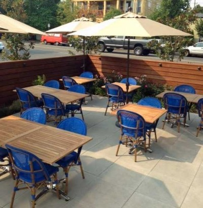 Patio at Levant Portland