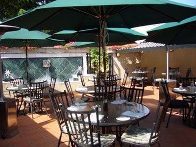 Riccardo's Ristorante outdoor dining in portland