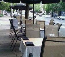 Uptown Billiards Portland outdoor dining