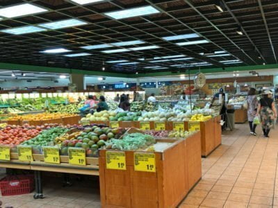 H-Mart Tigard produce isle