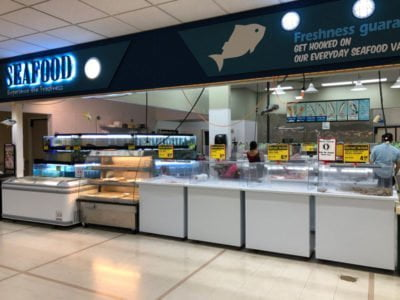 H-Mart Tigard Seafood Department