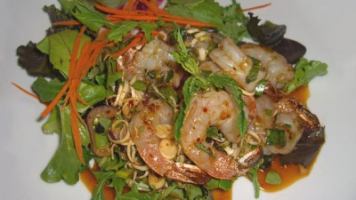 Kinara Thai Portland Prawn Salad