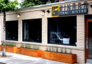 Kinara Thai Portland Restaurant exterior
