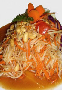 Kinara Thai Portland Papaya Salad