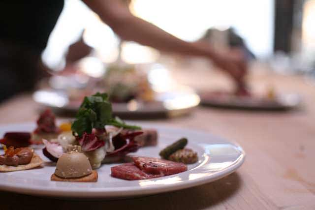 Beast Restaurant Portland charcuterie plate
