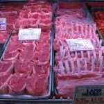 Granville Island Market Vancouver BC meat