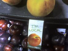 Plums from California at Portland Safeway Store