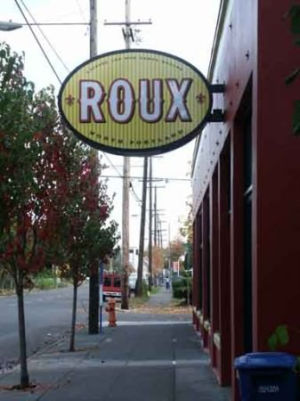 Roux Restaurant in Portland (now closed)