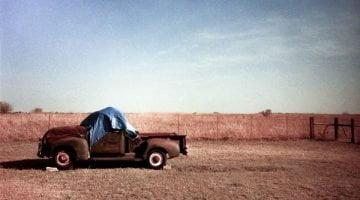 Old GMC pickup