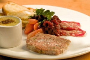 Country Terrine with Pate & Salami. ©2009JohnAnthonyRizzo