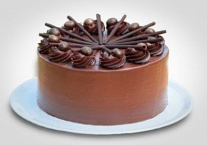 Triple Chocolate Torte at Papa Haydn Portland