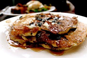 pancakes at Genies Portland