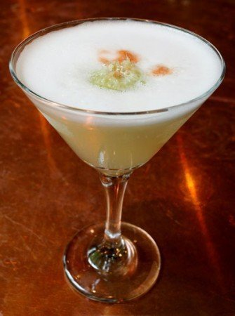 Pisco Sour Cocktail at Andina Portland