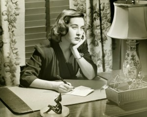iStock woman writing