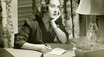iStock woman writing