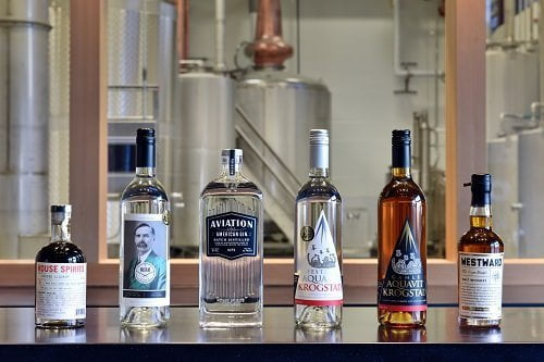 House Spirits Portland product lineup