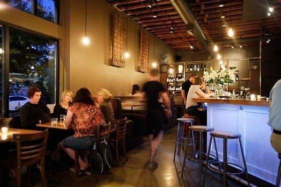 Bar Avignon interior, Portland