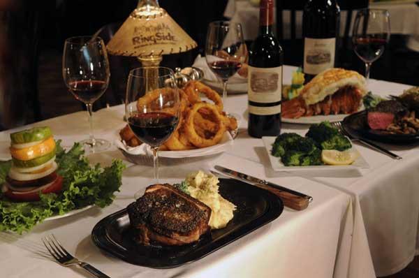 Review Ringside Steakhouse In Portland Oregon
