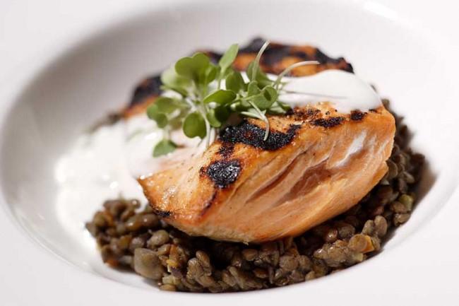 Genoa Restaurant Salmon