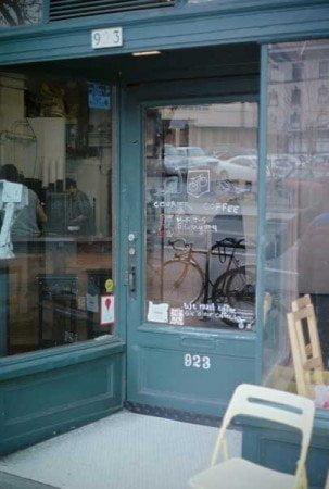 Courier Coffee Portland Exterior
