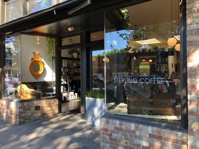 Sterling Coffee Portland exterior 518 nw 21st ave.