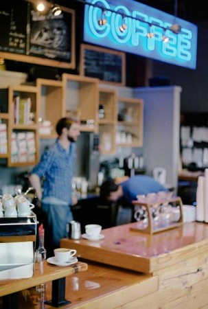 Water Avenue Coffee - Interior