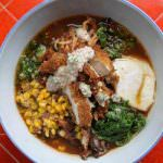 Boke Bowl Pork Ramen with Fried Chicken