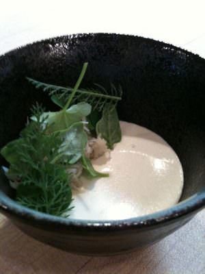 Castagna Restaurant: crab and crab custard