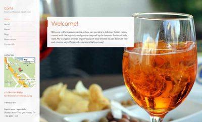 Wordpress Restaurants Announcement