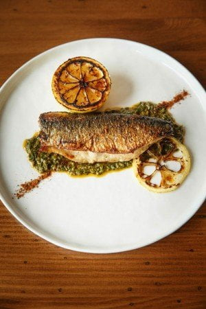 Best Middle Eastern Restaurant in Portland: Levant - Sardine a la plancha