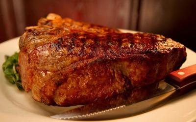 Morton's The Steakhouse steak