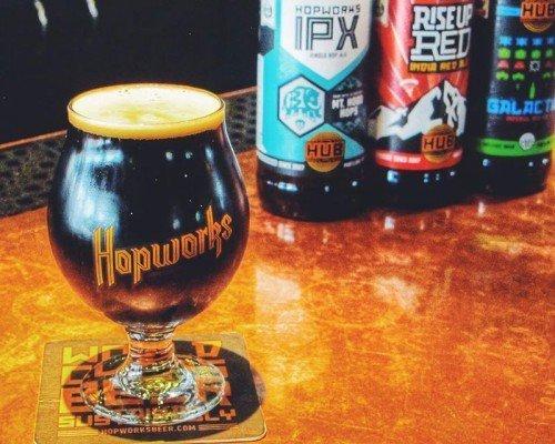 Hopworks Brewery portland