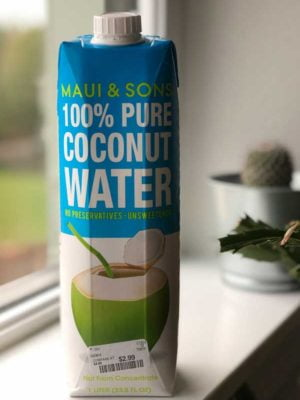 Can of Maui & Son's Coconut Water