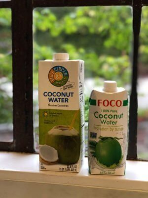 Full Circle and Foco Coconut Waters