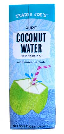 Trader Joes best Coconut Water