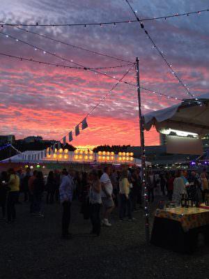 Sunset - Feast Portland 2015