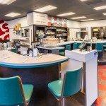 Dime Store Restaurant Portland interior