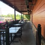 Famous Dave's BBQ patio space