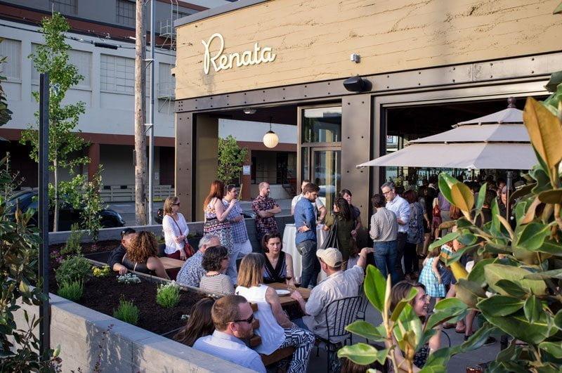 Renata outdoor dining Portland