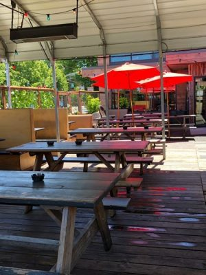 The Fixin' To Bar Portland outdoor dining