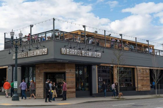 10 Barrel Brewing Portland outdoor dining