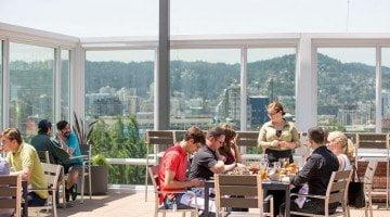 Altabira Portland rooftop outdoor dining