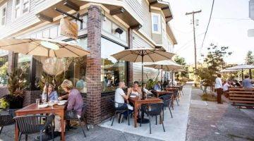 Coquine Restaurant Portland outdoor dining