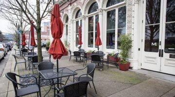 Lechon Portland outdoor dining