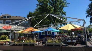 Lardo Eastside Portland outdoor dining