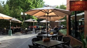 McMenamins Market Street outdoor dining