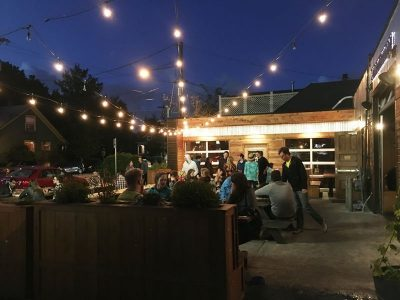 Migration Brewing Portland outdoor dining
