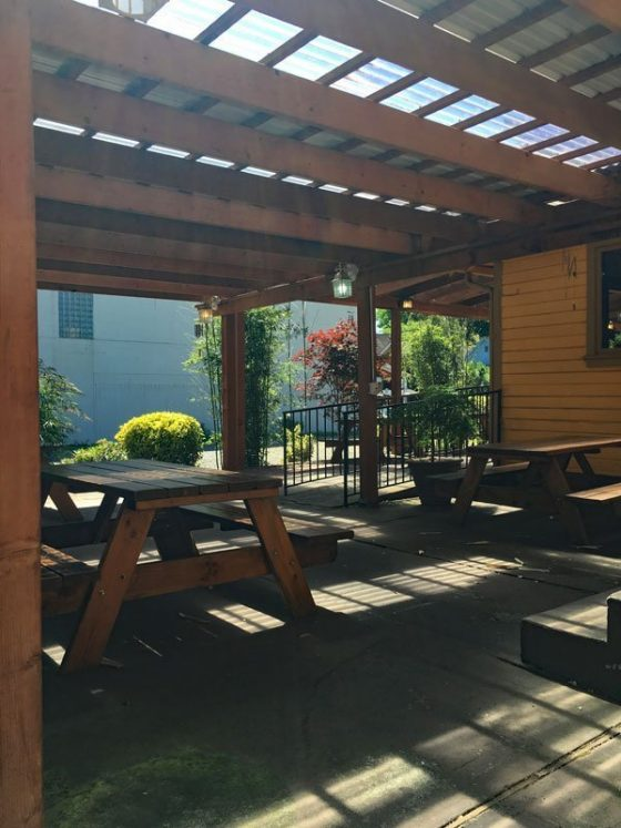 Monsoon Thai Portland outdoor dining
